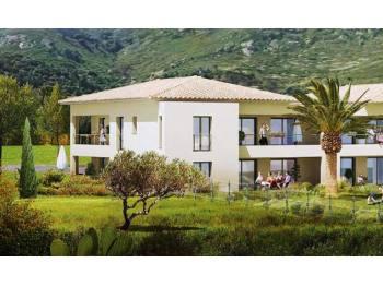 Vend logements résidence Les Immortelles Calenzana
