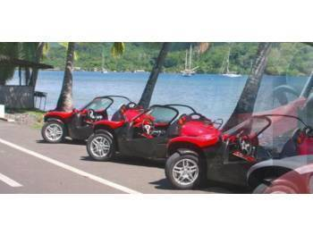 Base de location de buggys et roadsters  à MOOREA