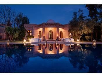Petit complexe hôtelier 5* marrakech murs+fonds