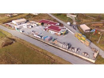 Vente mur commerciaux dépôt et négoce de matériaux