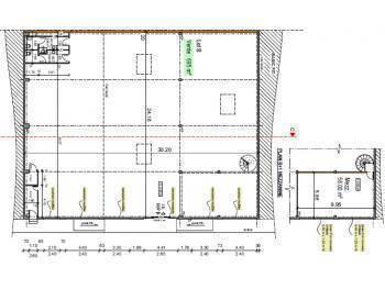 Loue local commercial/bureaux 788m² neuf à Bayonne