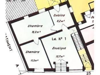 Local 30/57m2 + 70m2 de SS extraction, Boulangerie